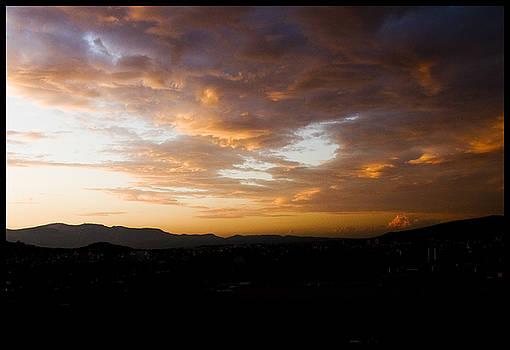 Julia Bridget Hayes - Athens Sunset