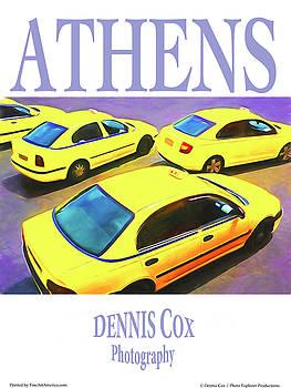 Dennis Cox Photo Explorer - Athens Travel Poster