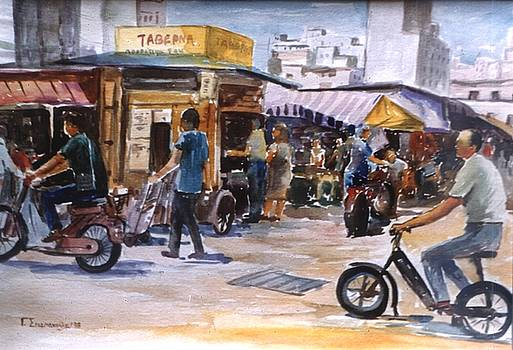 Athens.The old market by George Siaba