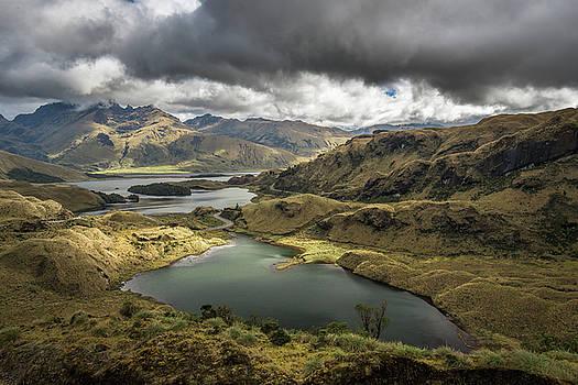 Atillo lagoons by Henri Leduc