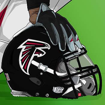 Atlanta football by Akyanyme