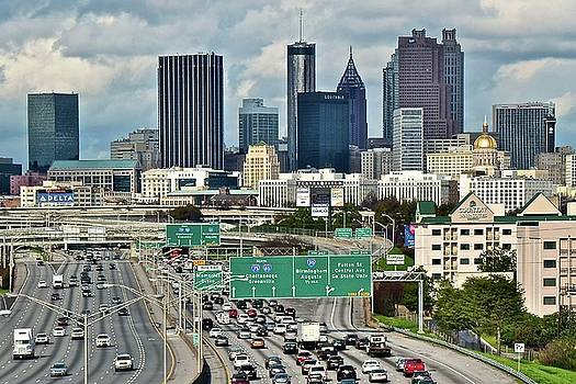 Atlanta up Ahead 2017 by Frozen in Time Fine Art Photography