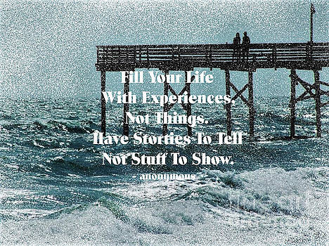Atlantic Beach Pier - Quote by Dee Winslow