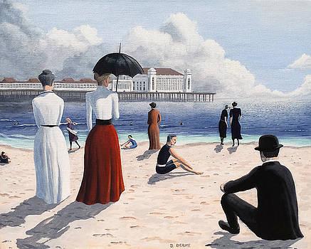 Atlantic City Beach by Dave Rheaume