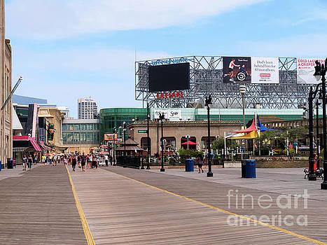 Atlantic City Boardwalk by Louise Heusinkveld