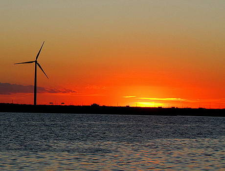 Atlantic City SunSet 2010 by Patrick Mills