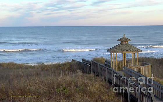Atlantic Ocean NC by Karen Francis