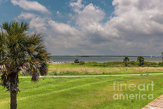 Dale Powell - Atlantic Ocean View from Fort Moultrie