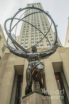 Atlas Rockefeller Center by Timothy Lowry