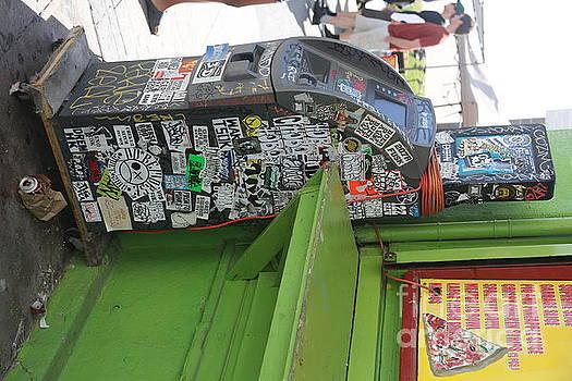 Chuck Kuhn - ATM Graffiti