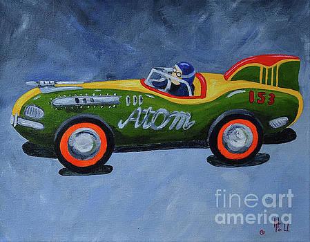 Atom Racer  by Herschel Fall