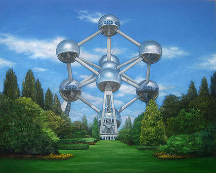 Atomium commission by Dale Knaak