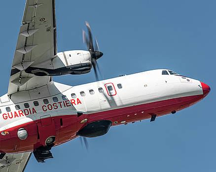 ATR AT42-500 Italian Coast Guard nose by Roberto Chiartano