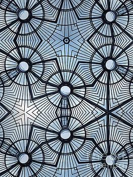 Atrium Roof Mosaic by John Gaffen