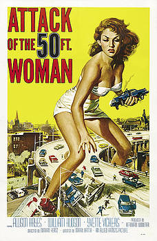 Daniel Hagerman - ATTACK of the 50 FT WOMAN LOBBY POSTER 1958