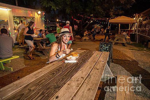 Herronstock Prints - Attractive Austin local eats at an East Austin food trailer park