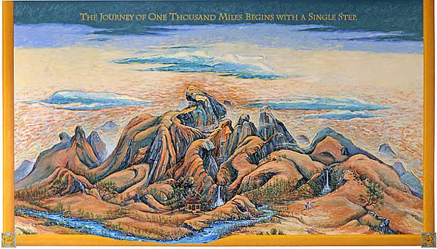 Auburn Tae Kwon Do Mural by Gary Symington