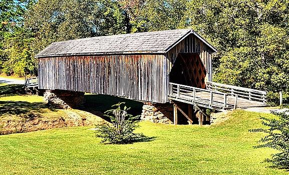 Auchumpkee Creek Covered Bridge by James Potts