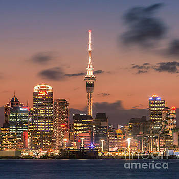 Auckland by Night by Henk Meijer Photography