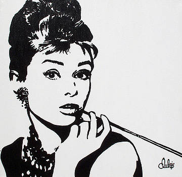 Audrey by Christine Paint it Black