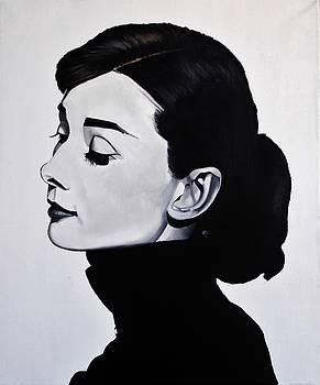Audrey Hepburn 1 by Brian Broadway