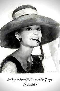 Audrey Hepburn 2 by Pennie McCracken