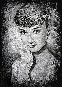 Audrey Hepburn by Andrew Read