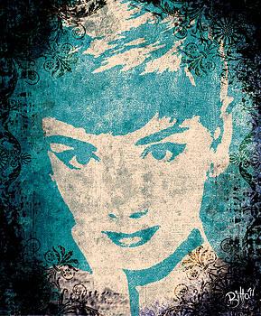 Audrey Hepburn by Bitta -  Silvia Mariottini