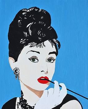 Audrey Hepburn II by Ralph LeCompte