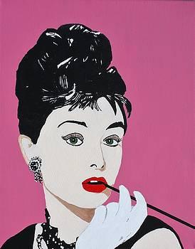 Audrey Hepburn III by Ralph LeCompte