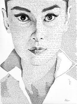 Audrey Hepburn in her own words by Phil Vance