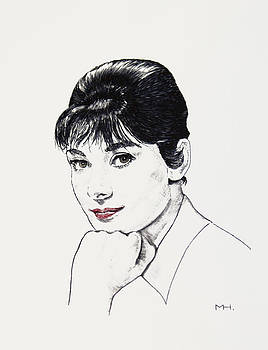 Audrey Hepburn by Martin Howard