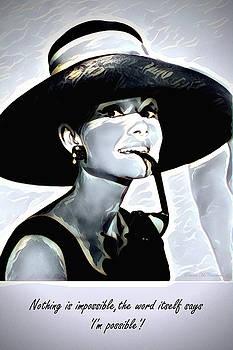 Audrey Hepburn by Pennie McCracken