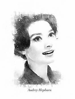 Audrey Hepburn by Steve K