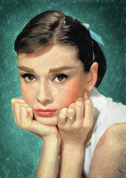 Audrey Hepburn by Taylan Apukovska