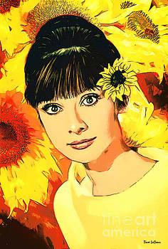 Audrey Hepburn by Tina LeCour