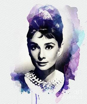 John Springfield - Audrey Hepburn, Vintage Actress