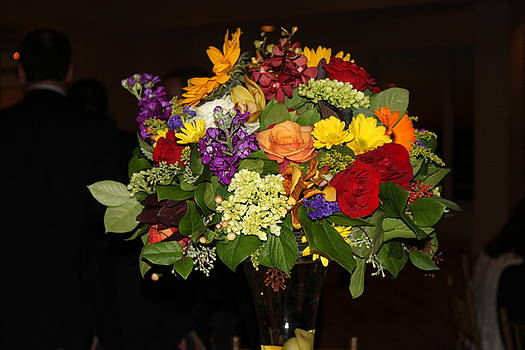 August Bouquet by Lyn Vic