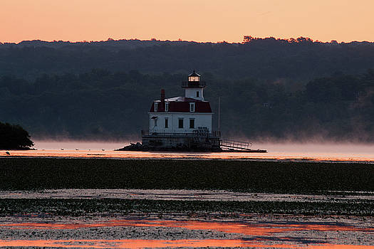 August Dawn at Esopus Light I by Jeff Severson