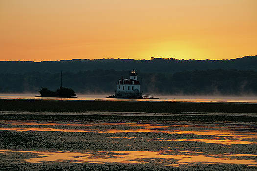 August Dawn at Esopus Light II by Jeff Severson