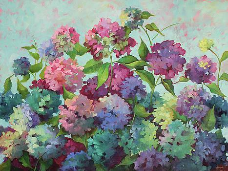 August Hydrangeas by Sue Dragoo Lembo