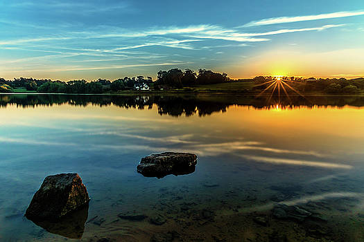 August Sunset by Nick Bywater