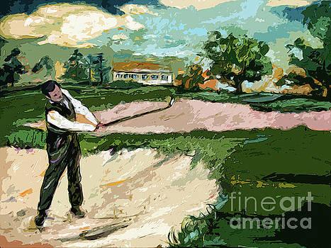 Ginette Callaway - Augusta National Bobby Jones Vintage Golf