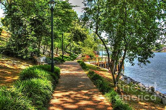 Augusta River Walk 01 by Donald Williams