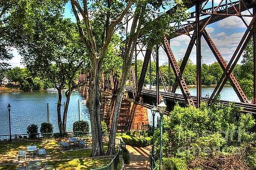 Augusta River Walk 02 by Donald Williams
