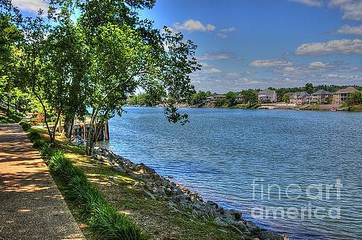 Augusta River Walk 04 by Donald Williams