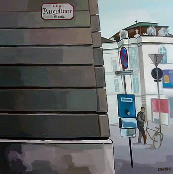 Augustiner Strasse by Carmen Stanescu Kutzelnig