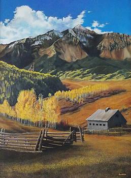 Autumn Nostalgia Wilson Peak Colorado by Anastasia Savage Ealy