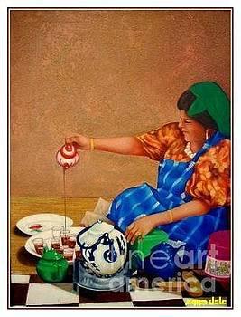 Aunt  by Adel Jarbou