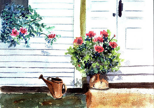 Auntie's Porch by Jane Croteau
